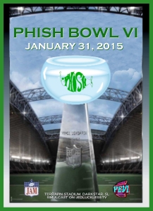 Phish Bowl VI Poster